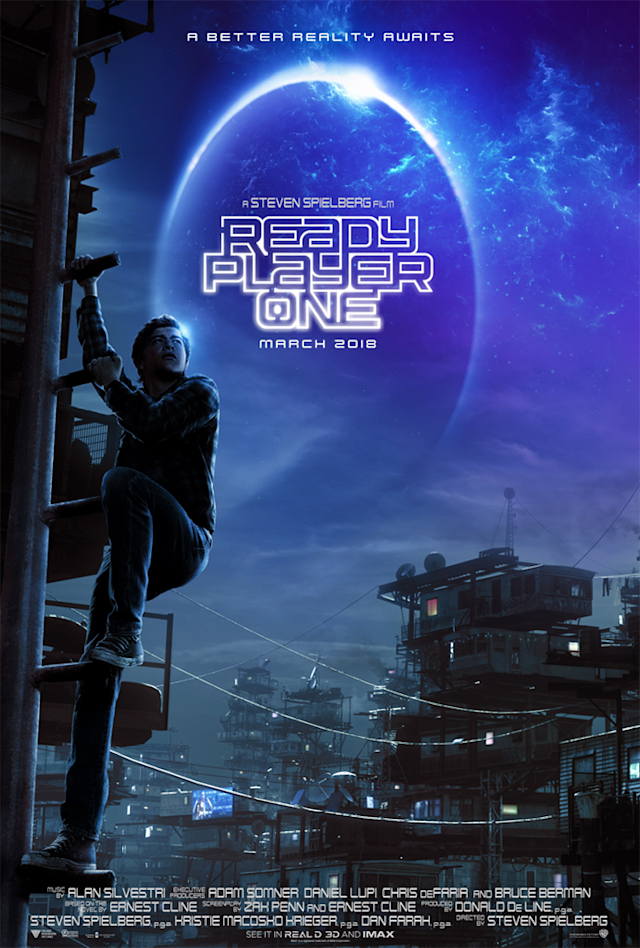 "<p>Steven Spielberg's Easter egg-laden VR-powered adventure might be one of 2018's most-anticipated flicks, but we can't stop staring at Tye Sheridan's right leg in this <a href=""https://www.avclub.com/the-ready-player-one-poster-is-terrible-but-possibly-a-1821185461"" rel=""nofollow noopener"" target=""_blank"" data-ylk=""slk:much-maligned one-sheet"" class=""link rapid-noclick-resp"">much-maligned one-sheet</a>. </p>"