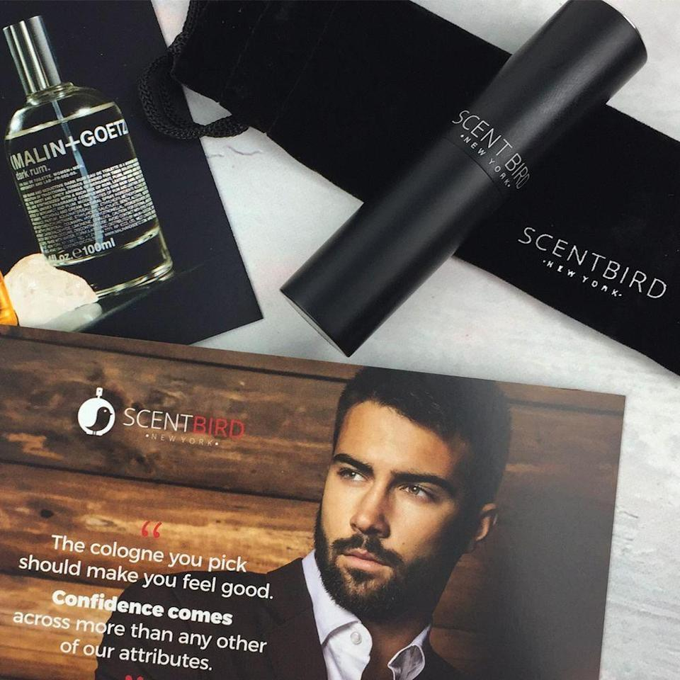 "<p><strong>Scentbird</strong></p><p>scentbird.com</p><p><a href=""https://go.redirectingat.com?id=74968X1596630&url=https%3A%2F%2Fwww.scentbird.com%2Fgift&sref=https%3A%2F%2Fwww.goodhousekeeping.com%2Fholidays%2Ffathers-day%2Fg21271459%2Fgifts-for-dad-who-has-everything%2F"" rel=""nofollow noopener"" target=""_blank"" data-ylk=""slk:Shop Now"" class=""link rapid-noclick-resp"">Shop Now</a></p><p>If he wants a new cologne and you're not sure where to start, let Scentbird take care of it. Each month, he can pick from top brands like John Varvatos and Kenneth Cole, and they'll send him a travel-size spray to try out.<br></p>"
