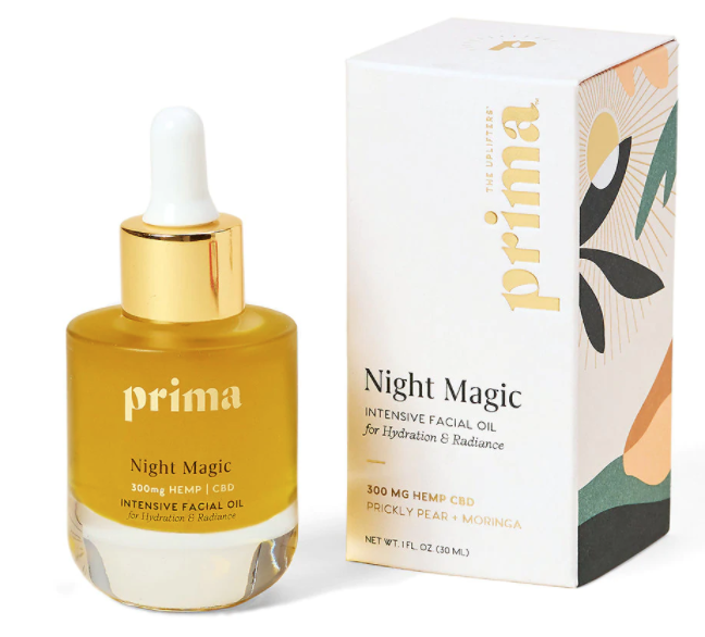 Prima Night Magic Intensive Facial Oil for Hydration and Radiance