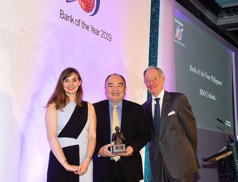 BDO wins The Banker's Bank of the Year in the Philippines