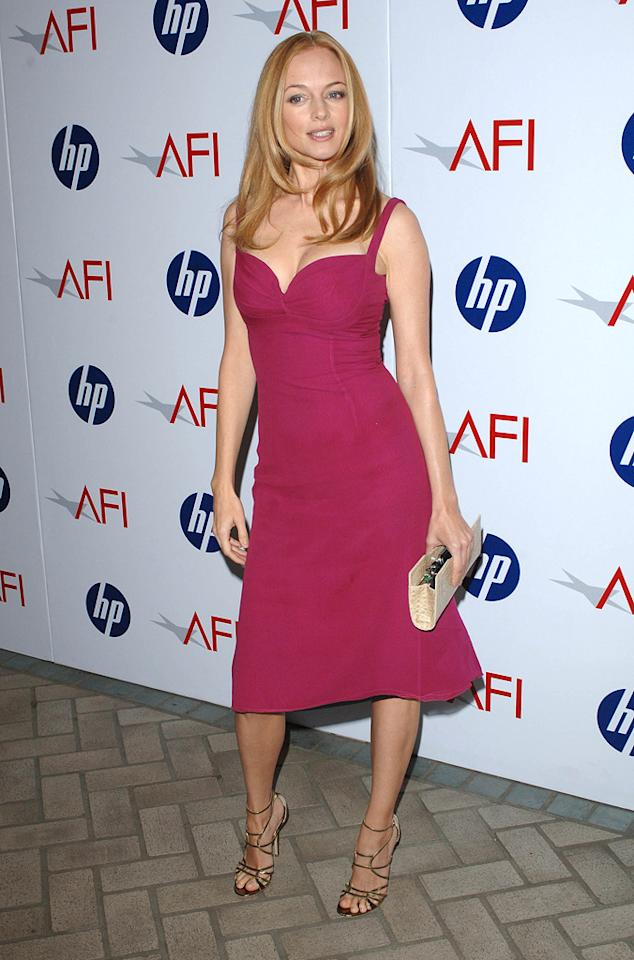 "<a href=""http://movies.yahoo.com/movie/contributor/1800018677"">Heather Graham</a> at the 10th Annual AFI Awards in Los Angeles - 01/15/2010"