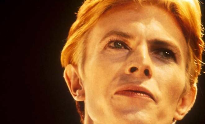 Happy birthday to us: David Bowie, pictured in 1976, releases a new single on his 66th birthday.