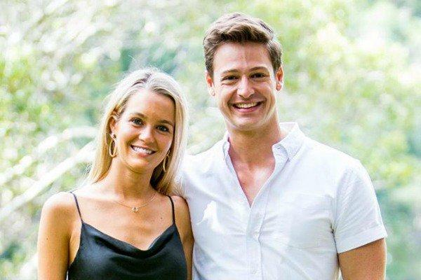 Matt and Helena appear to have hit it off during filming of The Bachelor. Photo: Channel 10