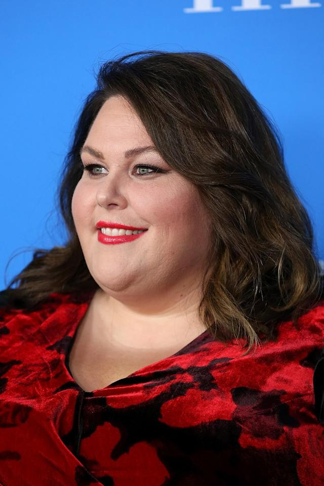 <p>The <em>This Is Us</em> star looked absolutely breathtaking at the Hollywood Foreign Press Association's Grant Banquet in Beverly Hills with her rich brunette hair, feline eyeliner, and punch red lipstick. (Photo: Getty Images) </p>
