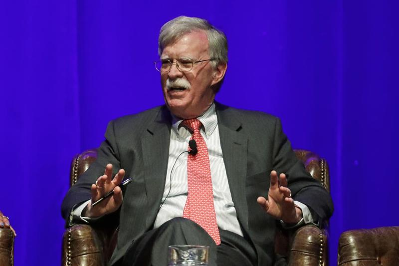 John Bolton says he'd be happy to testify in Canada on Huawei exec's extradition case