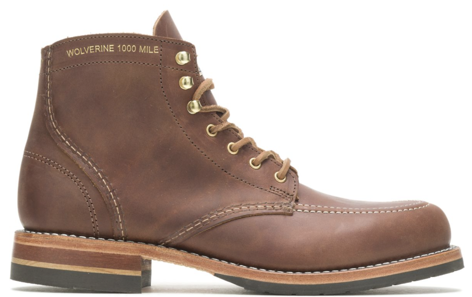 Wolverine x Old Rip Van Winkle's 1000 Mile boots. - Credit: Courtesy of Wolverine