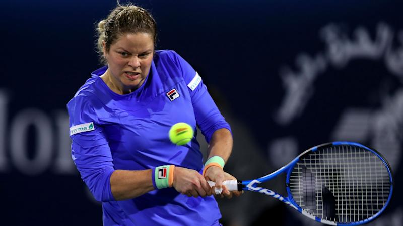 Clijsters takes solace in periods of dominance during Muguruza defeat