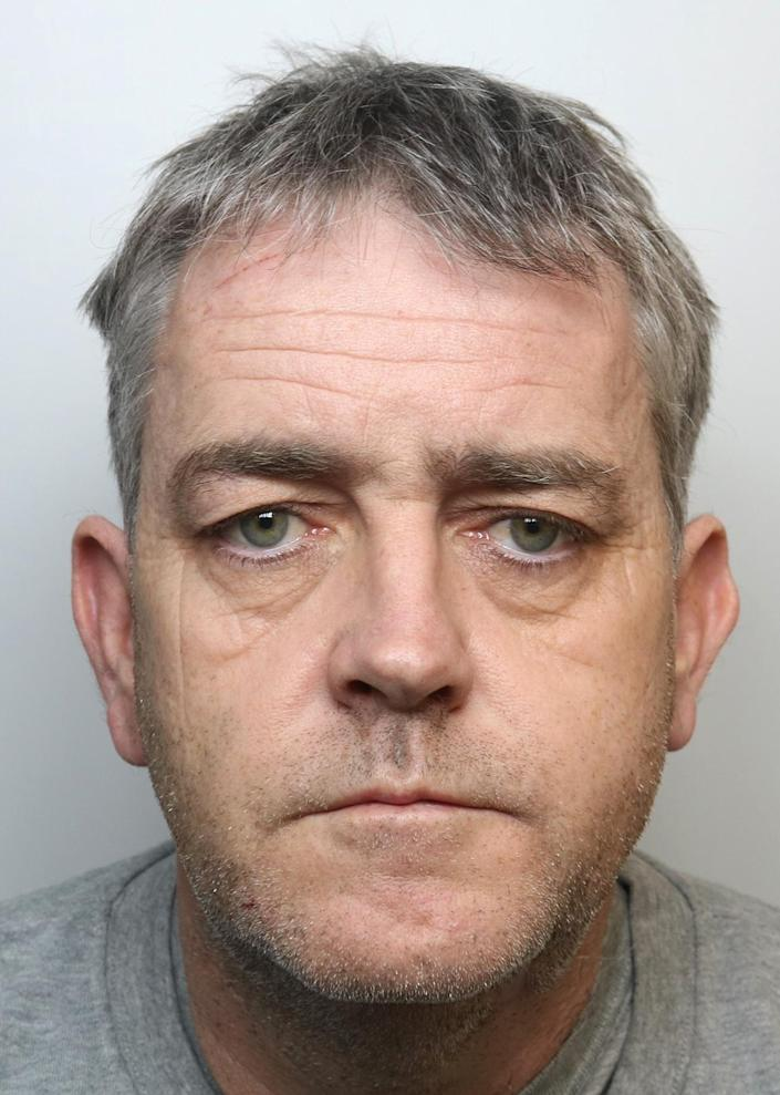 Andrew Jones, 53, who was convicted of the murder of Michael O'Leary. (PA/Dyfed Powys Police)