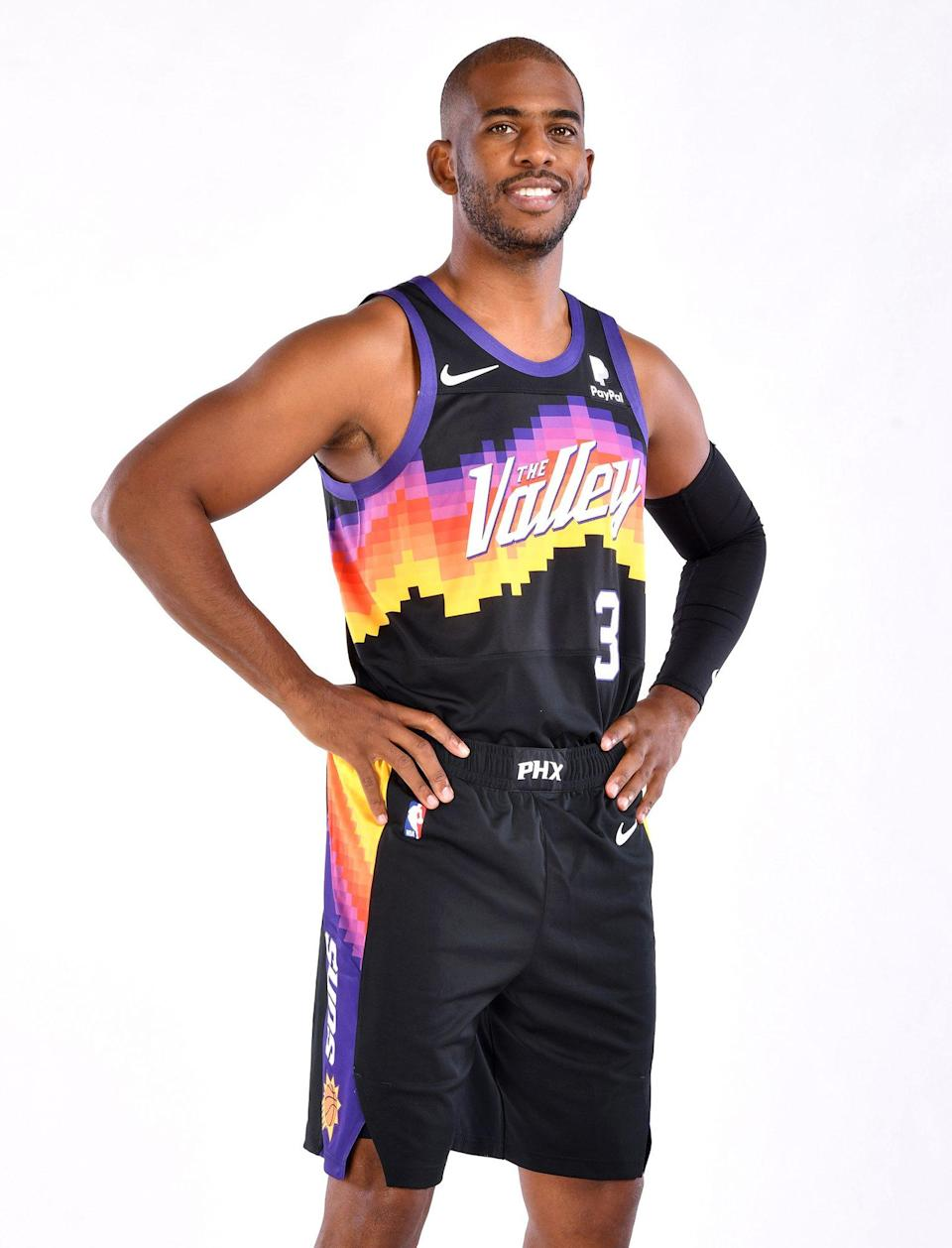 <p>Phoenix Suns guard Paul was selected by James in his third pick of the second round.</p>
