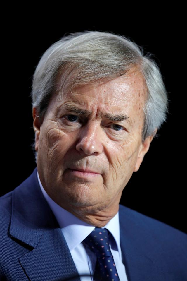Vincent Bollore, Chairman of the Supervisory Board of media group Vivendi, attends the company's shareholders meeting in Paris, France, April 19, 2018. REUTERS/Charles Platiau
