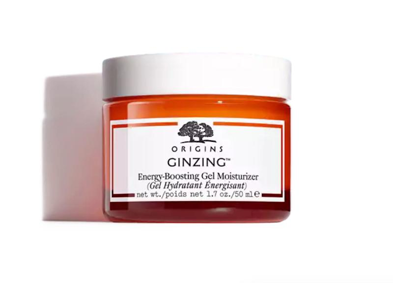 "<strong><a href=""https://www.origins.com/product/15352/26237/skincare/moisturize/moisturizers/ginzing/energy-boosting-gel-moisturizer"" target=""_blank"">Origins Ginzing Energy-Boosting Gel Moisturizer</a>, $28.50</strong>"