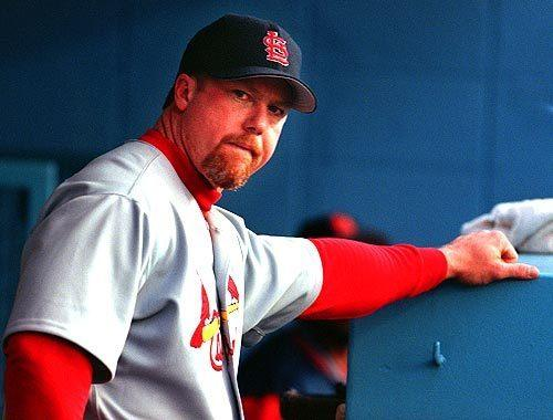 "Mark McGwire <span class=""copyright"">(Lori Shepler / Los Angeles Times)</span>"