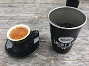 """<p><a href=""""https://foursquare.com/v/snowy-owl-coffee-roasters/561a895e498e263f85e8d9de"""" rel=""""nofollow noopener"""" target=""""_blank"""" data-ylk=""""slk:Snowy Owl Coffee Roasters"""" class=""""link rapid-noclick-resp"""">Snowy Owl Coffee Roasters</a>, Brewster</p><p>""""Unique herb garden seating in the back. Farm animals to hang out with, and you may stumble upon a musicians circle jam session."""" - Foursquare user <a href=""""https://foursquare.com/aimango"""" rel=""""nofollow noopener"""" target=""""_blank"""" data-ylk=""""slk:Elisa"""" class=""""link rapid-noclick-resp"""">Elisa</a></p>"""