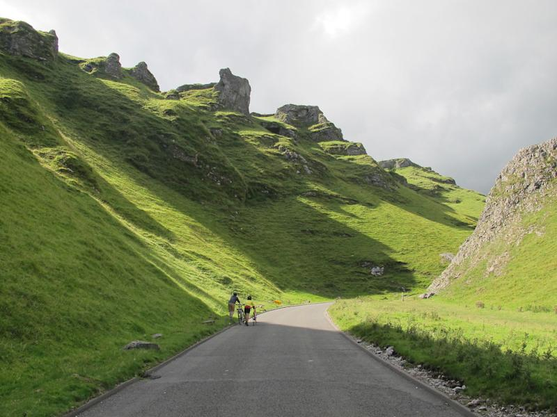 Winnats Pass in the Peak District