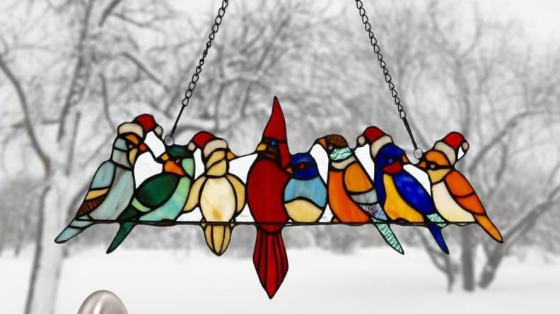 How sweet are these holiday birds?