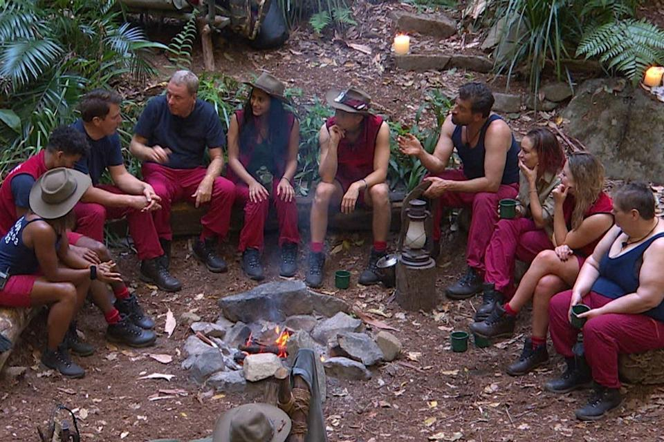 The I'm A Celebrity camp (Credit: ITV)