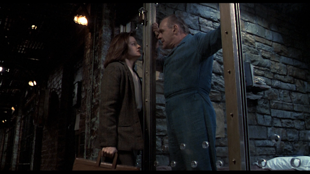 Jodie Foster and Anthony Hopkins in 'The Silence of the Lambs'. (Picture credit: MGM)