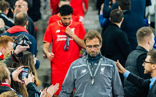 <span>Liverpool faced their own fixture congestion issues last season during their run to the Europa League final</span> <span>Credit: REX/Shutterstock </span>