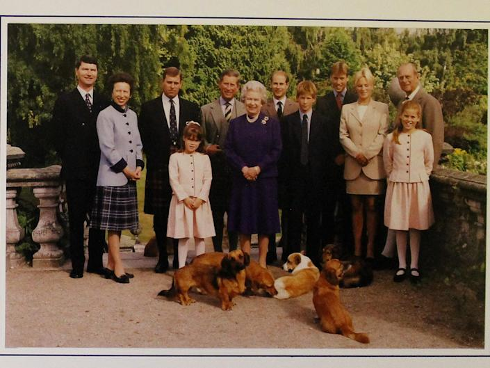 Royal Christmas cards 1998