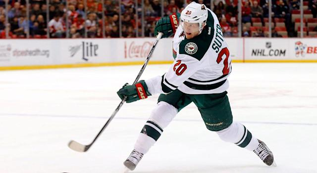 <p>The Wild also signed free agent Ryan Suter to a 13-year,<br> $98M deal in 2012. (Paul Sancya/AP) </p>