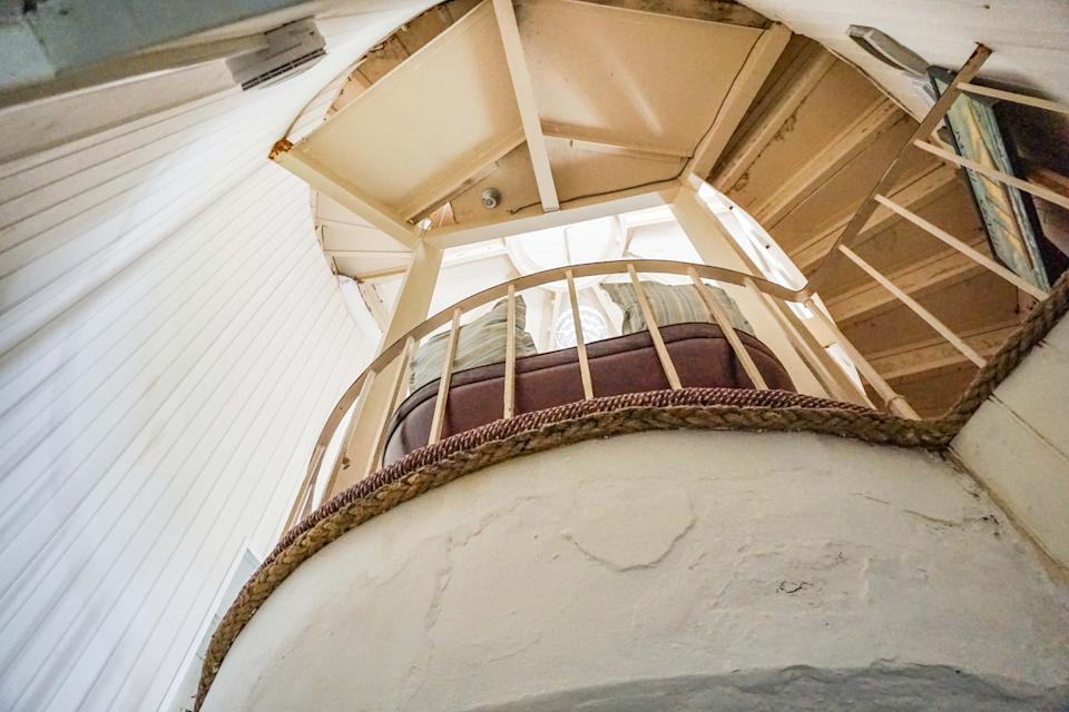 The amazing features in the lighthouse part of the property. (Purple Bricks)