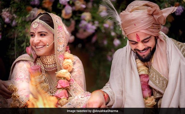 <p>Though the rumours were doing the rounds since the evening of 8th December, there were no confirmation that Anushka and Virat were indeed about to get married in Italy. The couple kept the wedding a hush hush affair till the ceremonies were done. With two of the most adorable pictures in the world, Virushka, at 8:21 PM IST,11 December 2017, announced it to the world that they were in fact man and wife from now. </p>