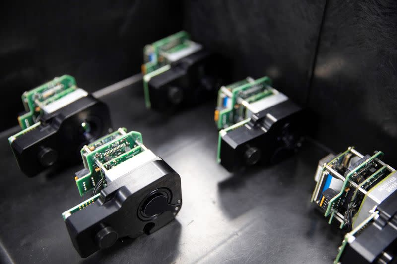 Demand for thermal cameras soars as temperature checks become workplace standard amid the coronavirus disease (COVID-19) outbreak