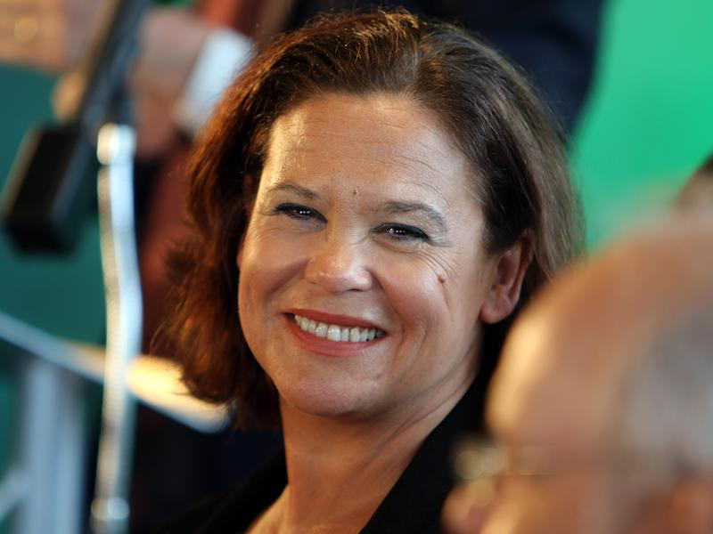 Mary Lou McDonald has been the Republican party's vice president since 2009: Getty