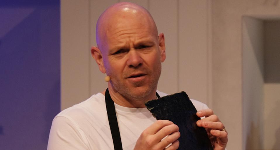Chef Tom Kerridge vented his frustration with 'no shows'.