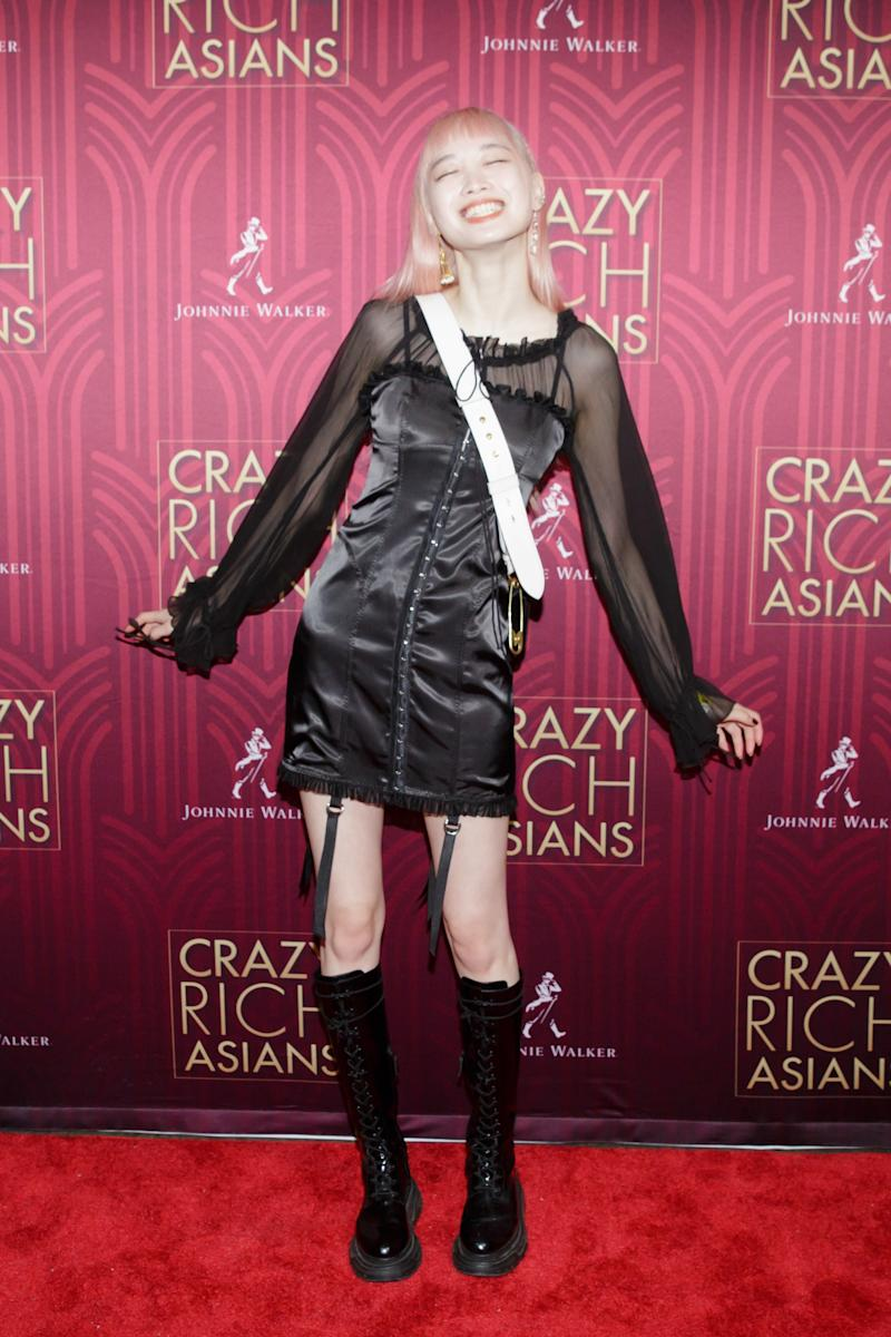 Fernanda Ly attends an advanced screening of Crazy Rich Asians at Metrograph in New York City.