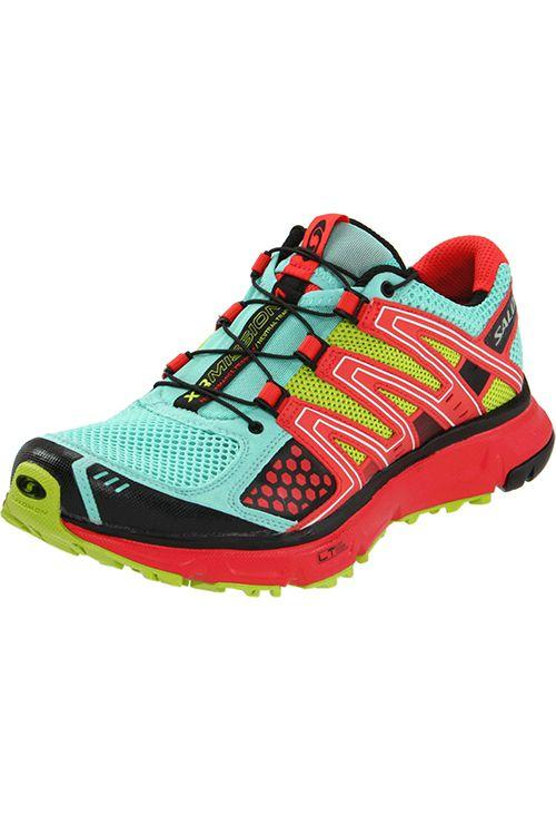 """<p><strong>Salomon</strong></p><p>amazon.com</p><p><strong>$109.95</strong></p><p><a rel=""""nofollow"""" href=""""http://www.amazon.com/dp/B0054PA08I/"""">SHOP NOW</a></p><p>These are one of the most highly-rated running shoes on Amazon  - 4.5 stars with over 3,000 reviews! - for a reason: They're designed for both pavement and trails, offer lots of traction, and have plenty of room in the toe box to prevent blisters.</p>"""
