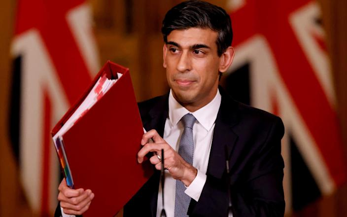 Rishi Sunak was contacted by David Cameron on behalf of Greensill - REUTERS
