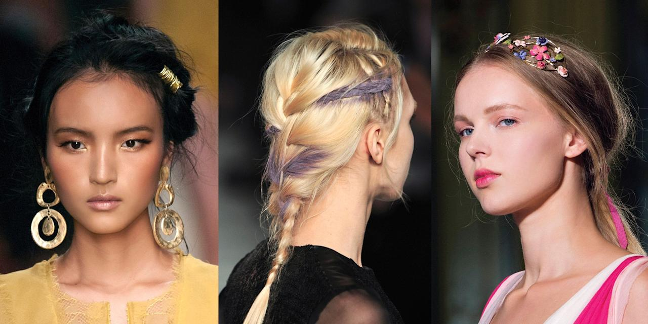 <p>Whether a flower crown is your jam or you prefer flowing waves and mini braids, boho hair is totally dreamy. And you don't have to be wearing cut-offs and burning incense to sport it —these pretty styles are even fancy enough for prom. Here are 10 festival-inspired looks perfect for your big night.</p>