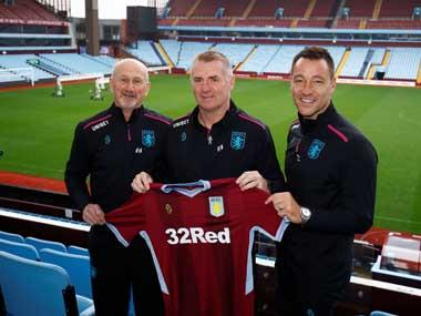EFL Championship: Aston Villa manager Dean Smith expects assistant coach John Terry to make big impact