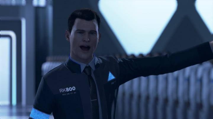 detroit become human ending guide cyberlife new connor threatening hank