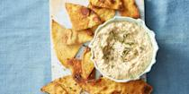 """<p>This savory, flavorful dip is a guaranteed crowd-pleaser. Buy extra chips! </p><p><a href=""""https://www.goodhousekeeping.com/food-recipes/a38842/grilled-onion-dip-recipe/"""" rel=""""nofollow noopener"""" target=""""_blank"""" data-ylk=""""slk:Get the recipe for Grilled Onion Dip »"""" class=""""link rapid-noclick-resp""""><em>Get the recipe for Grilled Onion Dip » </em></a></p>"""