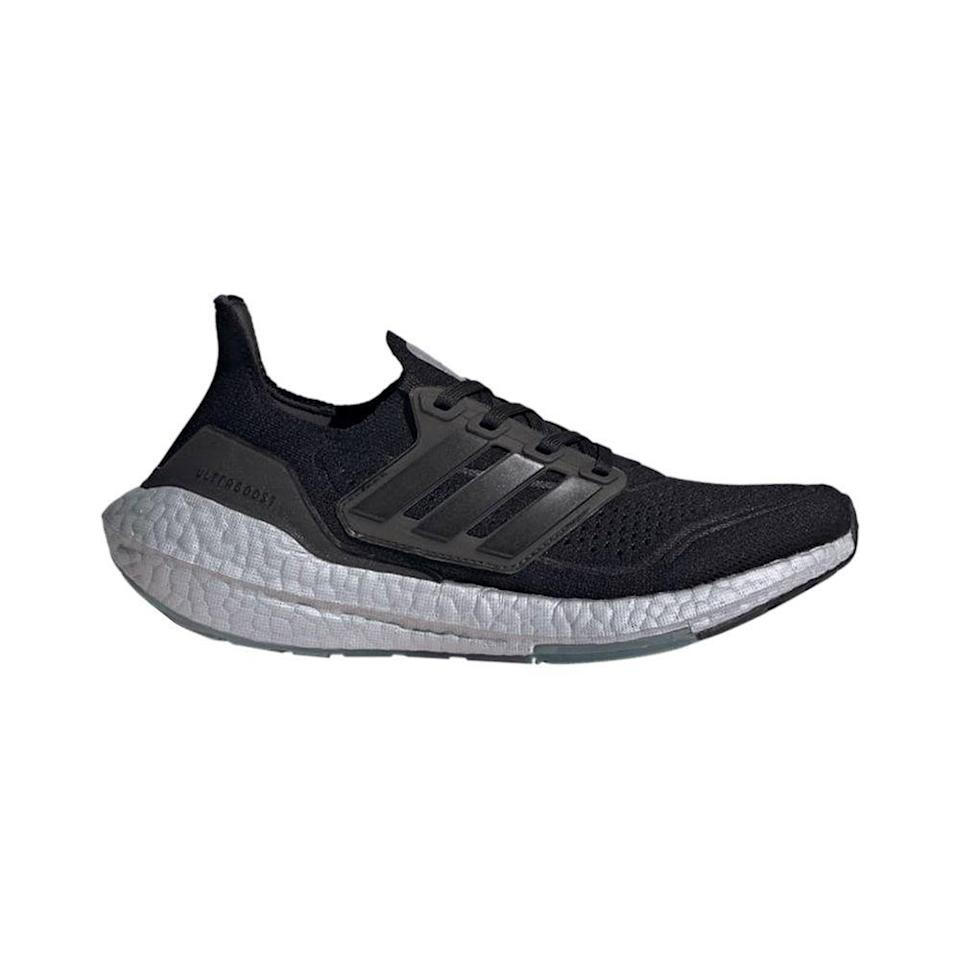 """<p><strong>Adidas</strong></p><p>amazon.com</p><p><strong>$126.00</strong></p><p><a href=""""https://www.amazon.com/dp/B08946PHP5?tag=syn-yahoo-20&ascsubtag=%5Bartid%7C10065.g.36791500%5Bsrc%7Cyahoo-us"""" rel=""""nofollow noopener"""" target=""""_blank"""" data-ylk=""""slk:Shop Now"""" class=""""link rapid-noclick-resp"""">Shop Now</a></p><p>Proclaimed the comfiest shoe in the world by Adidas at the time of their release six years ago, Ultraboosts remain a cult favorite running and workout shoe for their comfort and sleek appeal. Fans include orthopedists everywhere (presumably), <a href=""""https://www.elle.com/culture/celebrities/a26424182/meghan-markle-outfit-new-york-city-departure/"""" rel=""""nofollow noopener"""" target=""""_blank"""" data-ylk=""""slk:Meghan Markle"""" class=""""link rapid-noclick-resp"""">Meghan Markle</a> and Justin Bieber. </p><p>PS: This is the lowest price we've ever seen the 2021 iteration offered for on Amazon. <br></p>"""