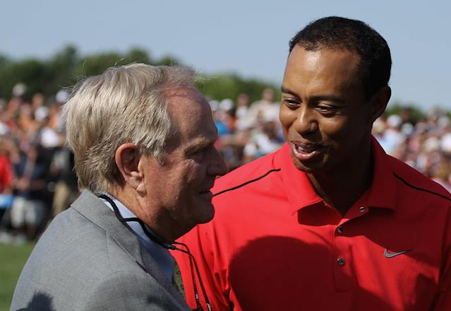 Jack Nicklaus still talking Tiger Woods, declares him the U.S. Open favorite at Pebble Beach