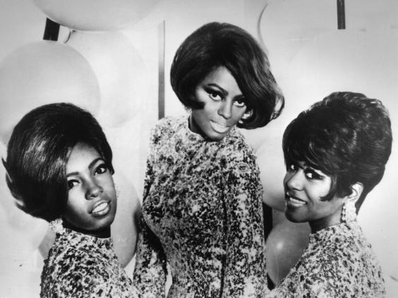 The Supremes in 1968: (from left) Mary Wilson, Diana Ross and Cindy Birdsong, who replaced original member Florence Ballard in 1967 (Getty)