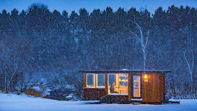 40k Tiny House Offers Huge Windows Lots Of Storage