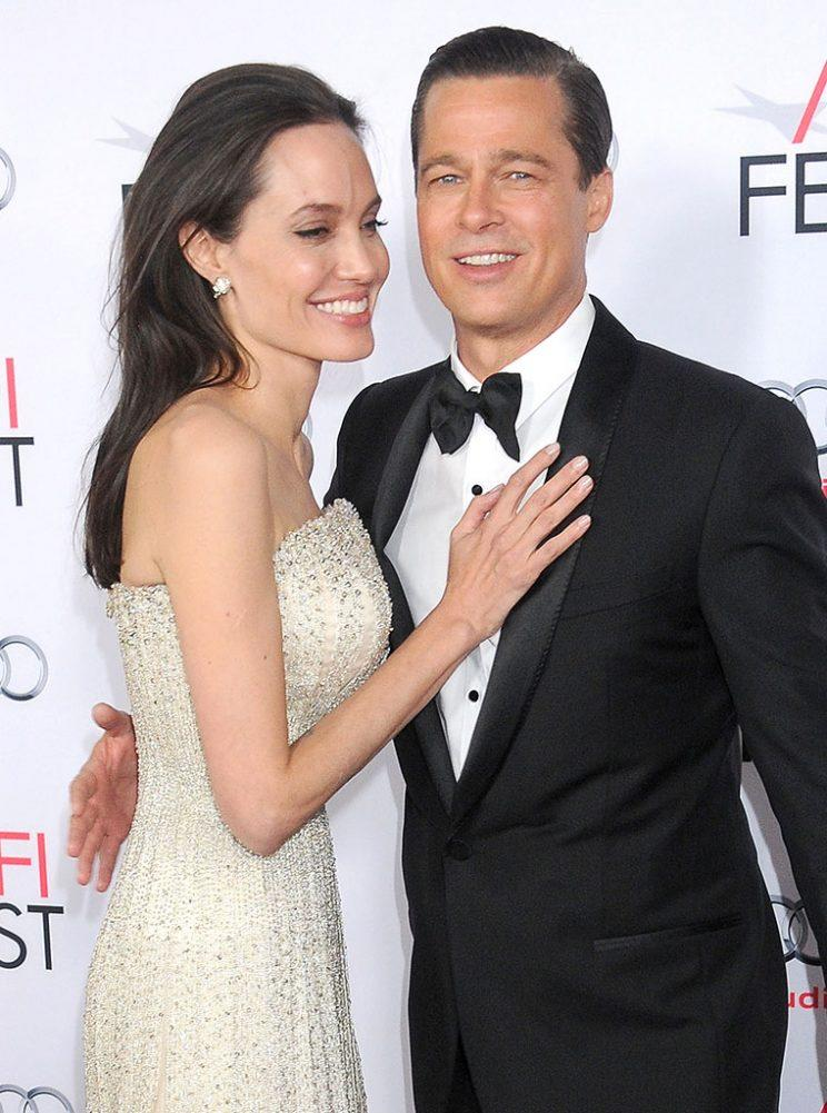 Brangelina at the premiere of
