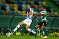 Porto are one of just three teams to have taken a point off Sporting in the Potuguese league this season