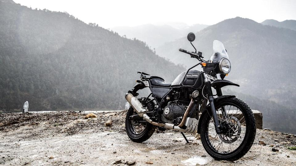 Royal Enfield Himalayan is one of the many bikes in its fleet.