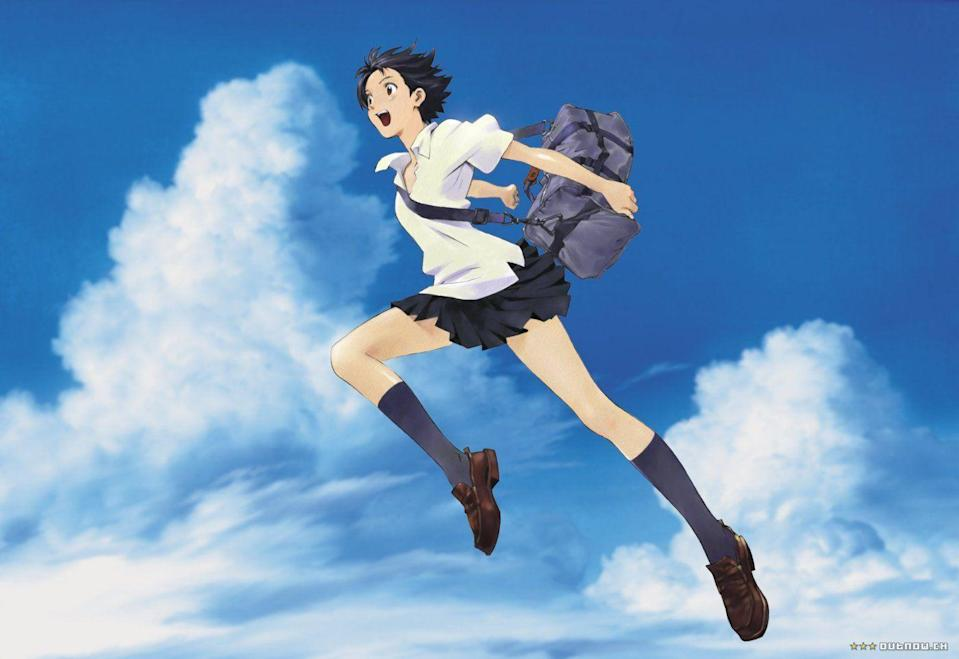 """<p>This 2006 <a href=""""https://www.amazon.com/Girl-Who-Leapt-Through-Time/dp/B01GJ9EBSW"""" rel=""""nofollow noopener"""" target=""""_blank"""" data-ylk=""""slk:award-winning anime"""" class=""""link rapid-noclick-resp"""">award-winning anime</a> is a coming-of-age time travel story that even rivals <em>Back to the Future</em>. After schoolgirl Mokoto Konno discovers a time travel device that gives her the power to leap through time, she uses her new gifts for mundane high school stuff, passing tests, avoiding awkward conversations, and to address her chronic lateness.<br></p><p>When she learns what her time traveling does to others around her, and as the seriousness of her time jumping becomes more apparent, the film blossoms into an important story about loss and friendship.</p>"""