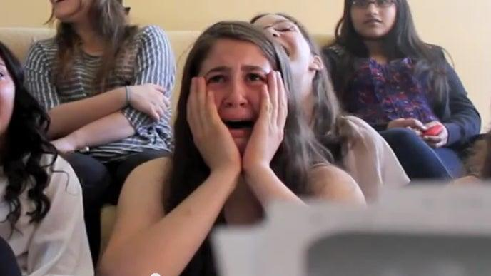 Elif is moved to tears by One Direction (Handout)