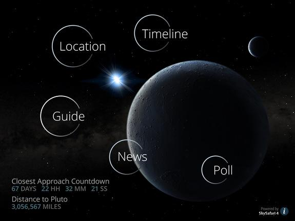 Free App Puts NASA Pluto Mission in Palm of Your Hand