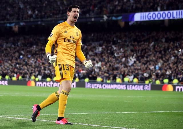 Thibaut Courtois will look to keep out Barcelona again