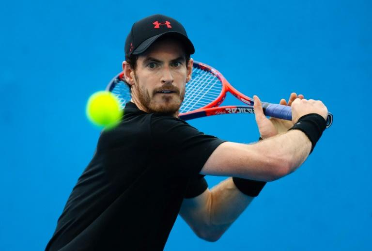 Andy Murray, seen here in December 2017, announced he had hip surgery in Australia and was hoping to return to competitive tennis in time for the grasscourt season midway through the year