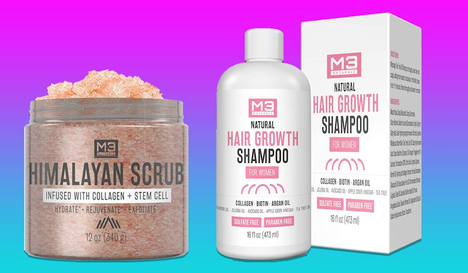 Score up to 60 percent off of M3 Naturals personal care products. (Photo: Amazon)