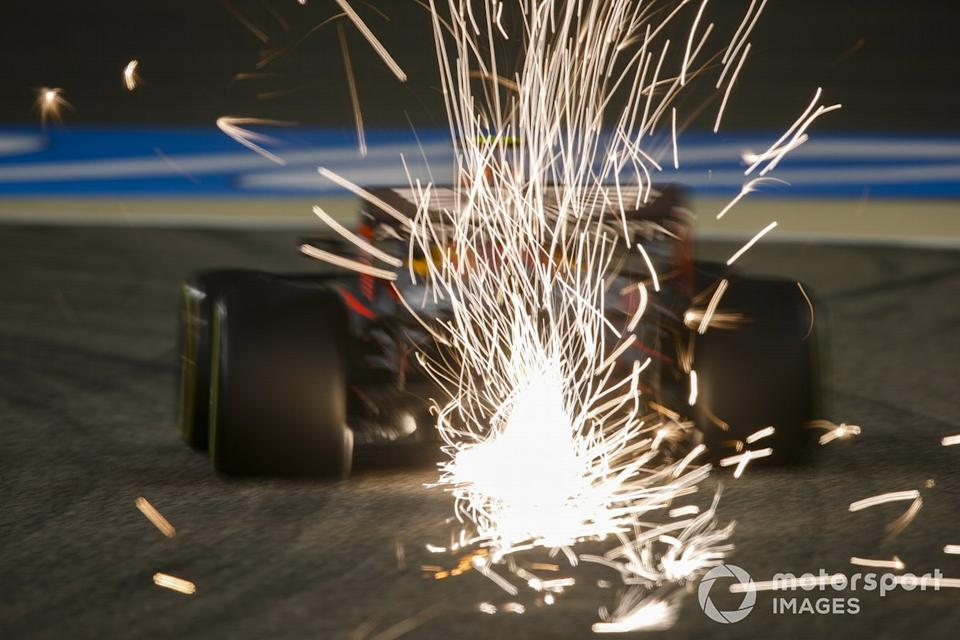 """Max Verstappen, Red Bull Racing RB16<span class=""""copyright"""">Charles Coates / Motorsport Images</span>"""
